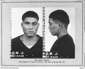 Identification Photographs of Sgt. Hajime Toyoshima. (Credits: AWM)