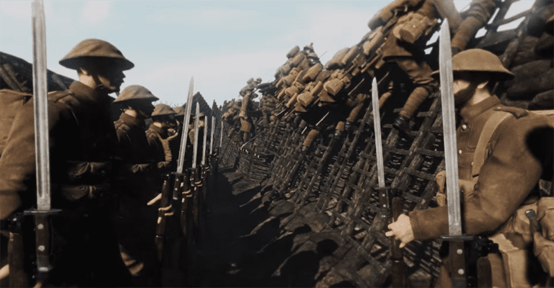 Game Verdun, set in World War I