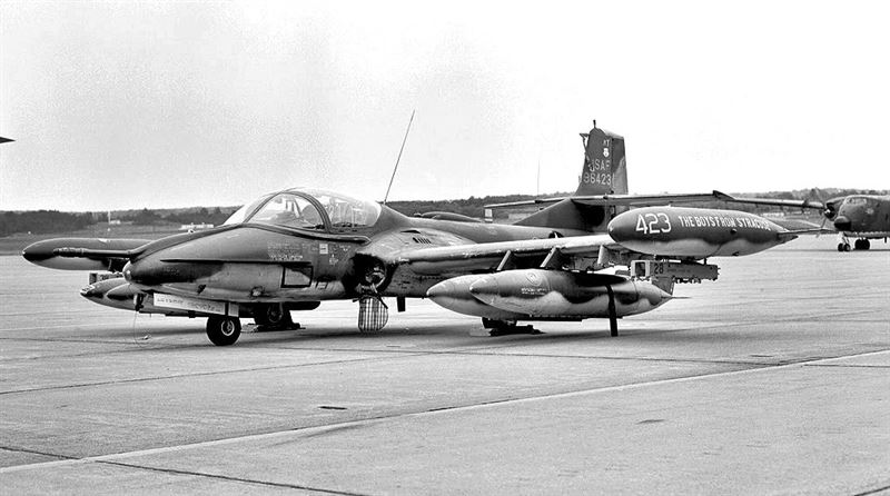 138th Tactical Fighter Squadron - Cessna A-37B Dragonfly (Credits: Wikimedia)