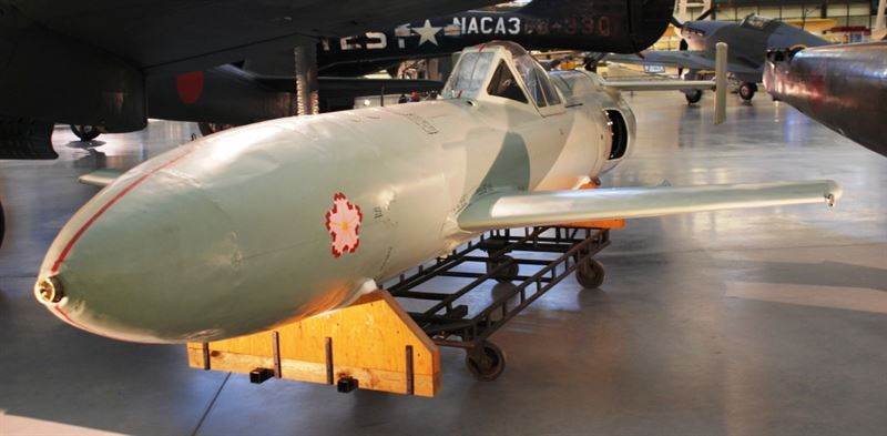 Yokosuka MXY-7 Oka (Credits: Wikipedia/ Jarek Tuszynski)