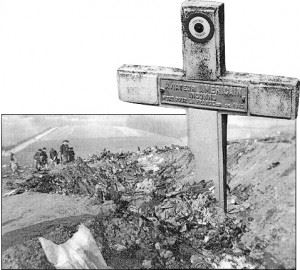 Tincourt Crater Cross