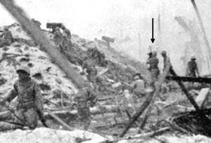USMC Combat Camerman Norm Hatch filming Bonneyman's assault.