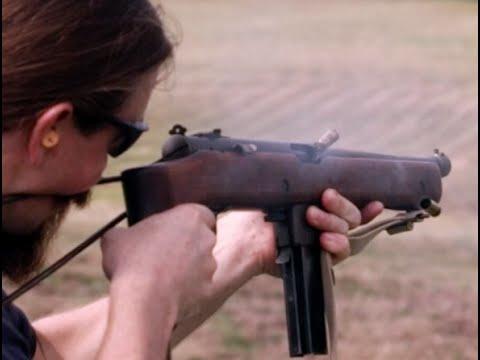 M55 Submachine Gun
