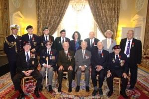 British Veterans awarded the Legion d'Honneur