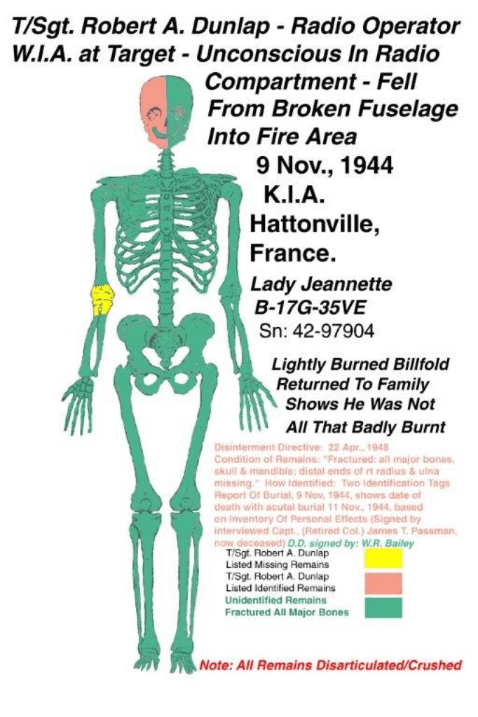 Lady Jeannette - Dunlap Skeleton