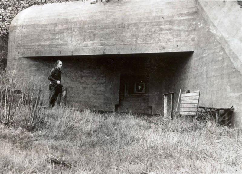 A Regelbau 506d Type Bunker.