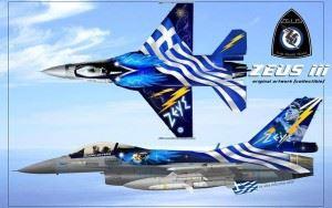 F-16 Fighting Falcon Zeus Artwork