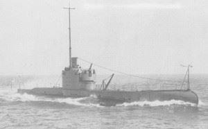 British Submarine HMS Perseus