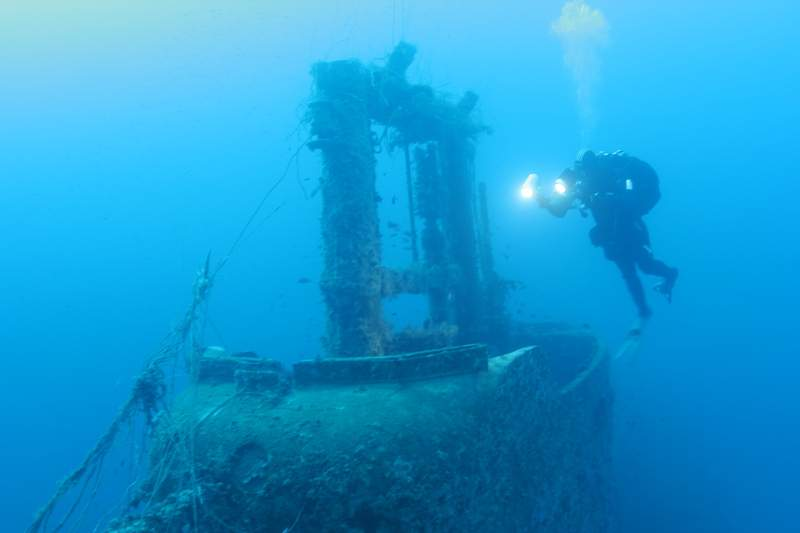 Wreck of the HMS Perseus