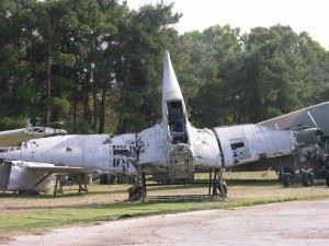 Wreckage of Stuka dive bomber at Greek Air Force Museum