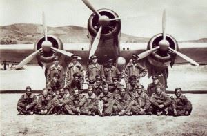 "A World War II Italian bomber SM-79 ""Sparviero"" (""Hawk"")"