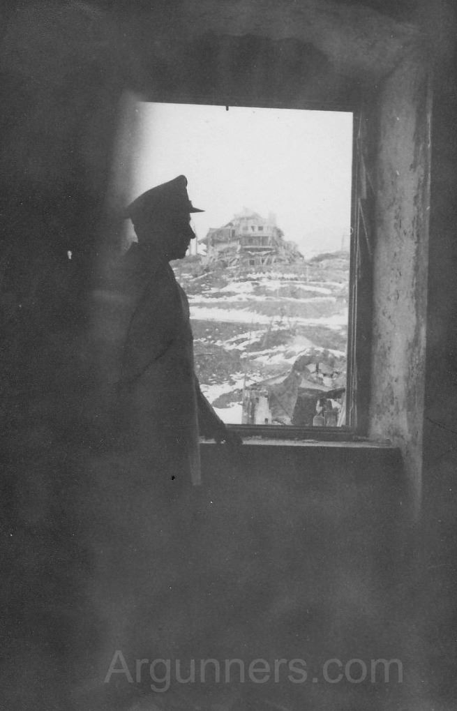 View from one of Hitler's & Eva Braun's bedrooms. (Credits: Eric Abels)