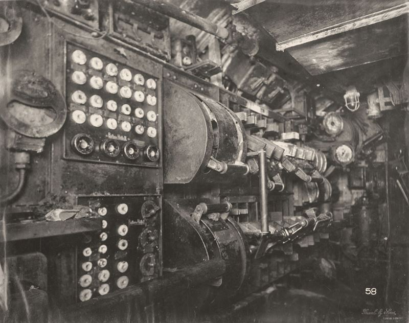 U-Boat 110, Electric Control Room