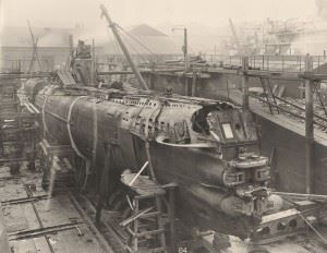 General view of the Submarine U-110