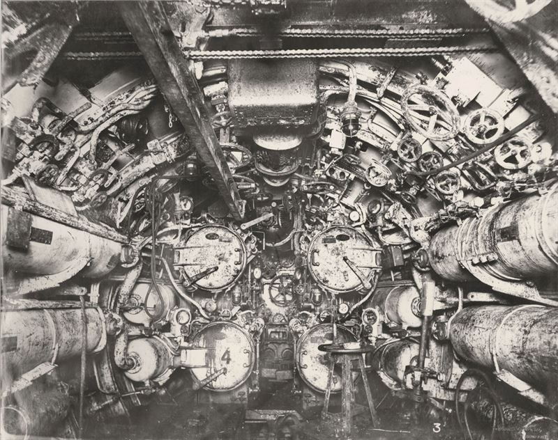 U-Boat 110, forward Torpedo Room