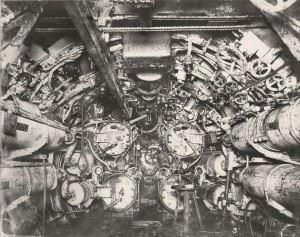 U-Boat 110, forward Torpedo Room