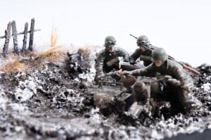 """24. Panzer Division at Stalingrad, 1942"" diorama created by Bogdan Popescu"