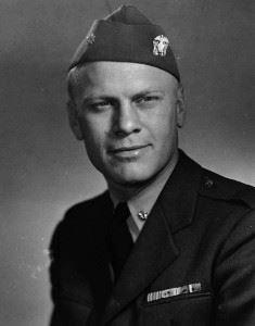 Lt. Cmdr. Gerald R. Ford