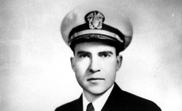 Lt. Cmdr. Richard M. Nixon