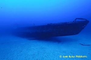 French submarine Rubis wreck (Credits: Aldo Ferrucci)