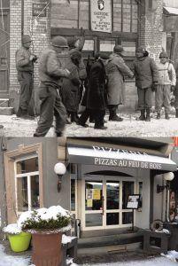Battle of the Bulge - Now & Then image Bastogne
