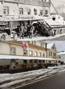 Battle of the Bulge - Now & Then image Ligneuville
