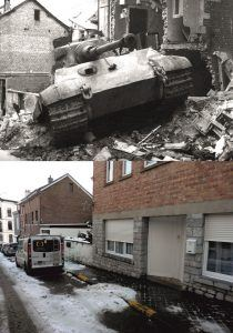 Battle of the Bulge - Now & Then image Stavelot