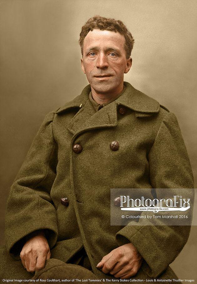 The Lost Tommies - Portrait WWI
