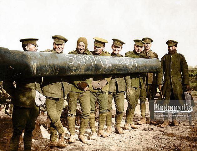 Somme Gun
