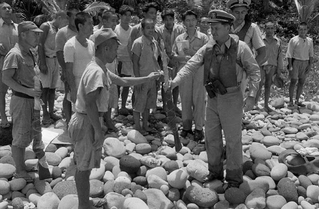 Japanese Surrender In 1951 At Island Of Anatahan