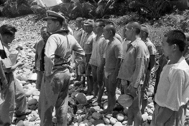 japanese soldiers surrender 1951 - 7