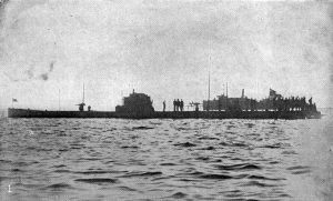 German submarine SM U-53