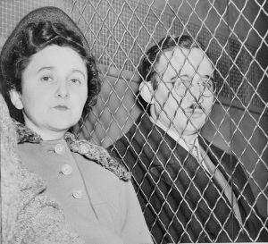 Ethel and Julius Rosenberg, after their incarceration.