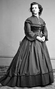 Pauline Cushman, sometime between 1855 and 1865.