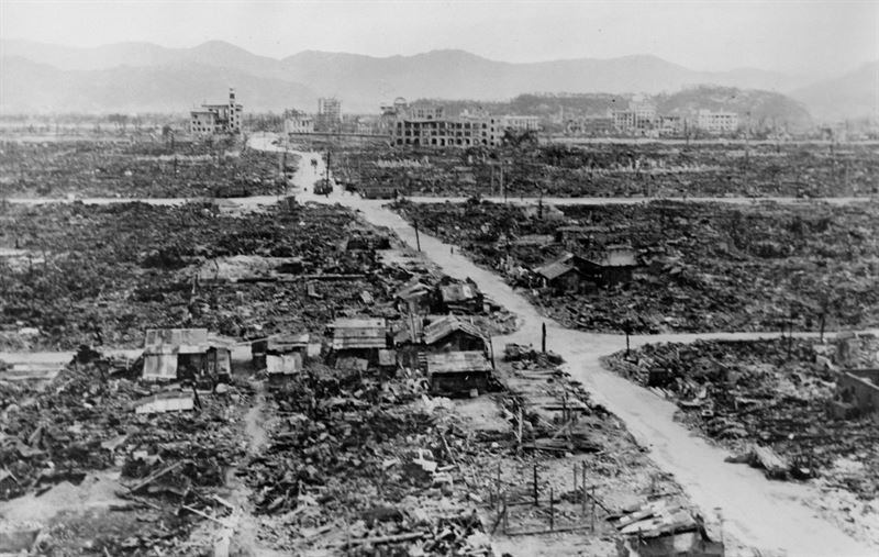 an introduction to the problem of american atomic bomb dropped on japan On august 6, 1945, the united states of america dropped an atomic bomb on hiroshima, japan for decades, there have been feuds relating to the justification of the bombing was the us justified it depends on your vantage point.