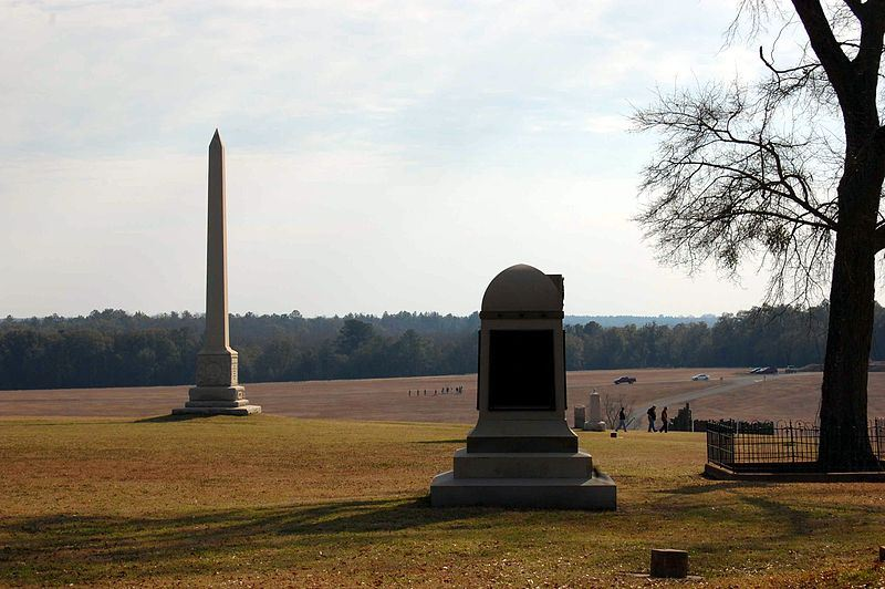 Monuments at the Andersonville site