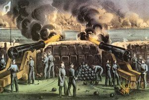 Confederate Batteries Fort Sumter