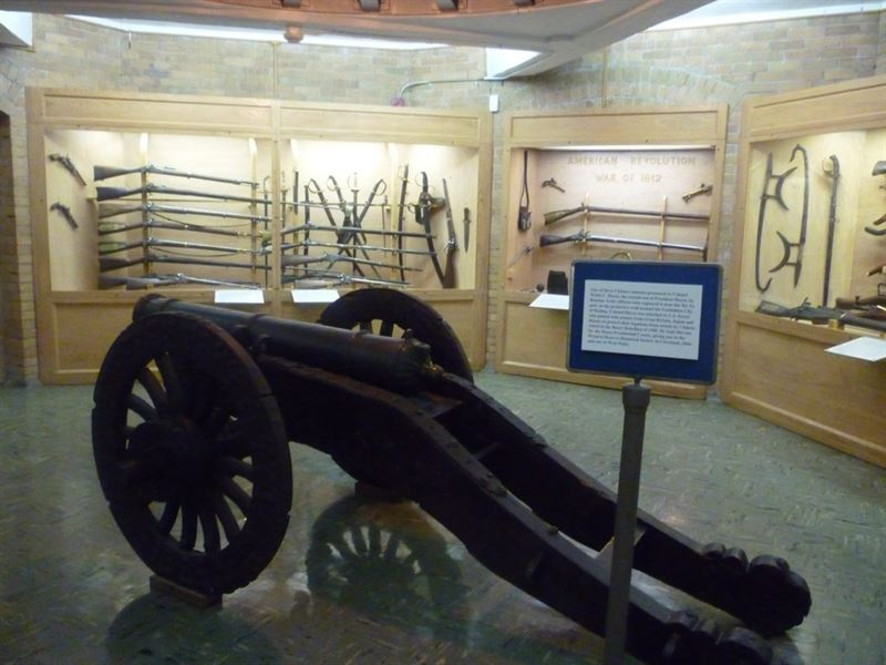 Armament Room in Rutherford B. Hayes Presidential Center