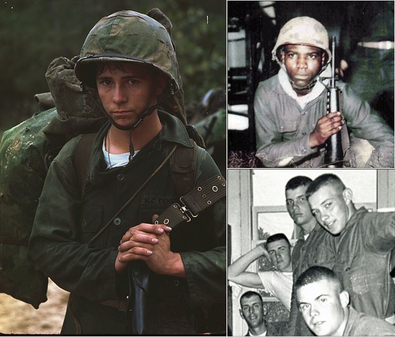 Meet Two Brave Young American Soldiers of the Vietnam War