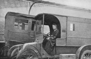 Marie Curie - Mobile X-Ray Unit