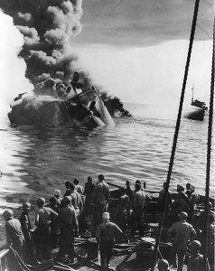 Sinking of oiler USS Mississinewa
