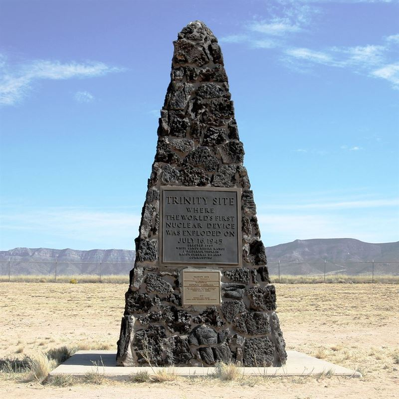 Trinity Site Obelisk National Historic Landmark