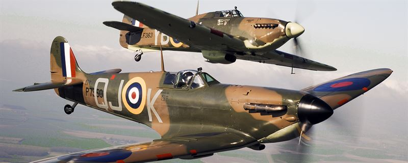 Four Places to See a Real Spitfire in England