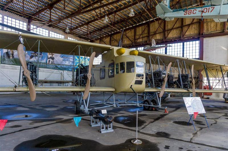 Central Air Force Museum -16- Sikorsky Ilya Muromets