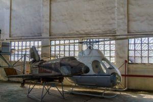 Central Air Force Museum -22- Mil V-7 and test flight vehicle BOR-5