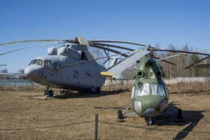 Central Air Force Museum -35- Military version of Mil Mi-2 and Mil Mi-26