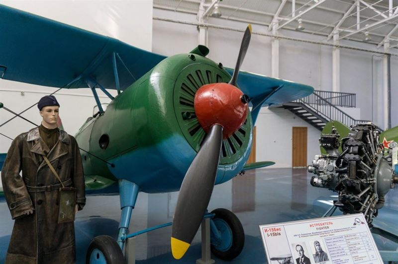 The Central Air Force Museum in Monino, Moscow