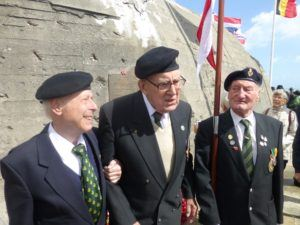 On Gold Beach, the German bunker which stood in the way of the Sherwood Rangers' entry into Normandy still stands sentinel. On that spot this June 6th , the Sherwood Rangers dedicated a plaque to the tankers who fought and died to take this beach.