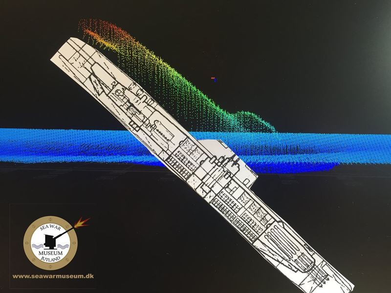 German WWII Submarine U-3523 has been found off the Danish Coast