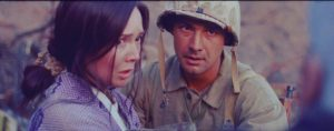 Marié Digby and Jerry Wolf in Last Patrol on Okinawa (2019)